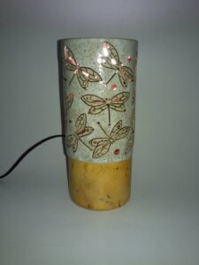 lampu meja keramik