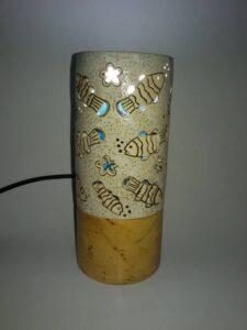 lampu meja unik antik