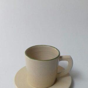 Keramik Pabrik Souvenir Cangkir Green Line Cup