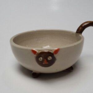wadah krim aromaterapi bahan keramik