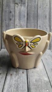 Pot bunga bahan keramik vase