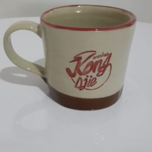 jual cangkir kopi bahan keramik seni kriya
