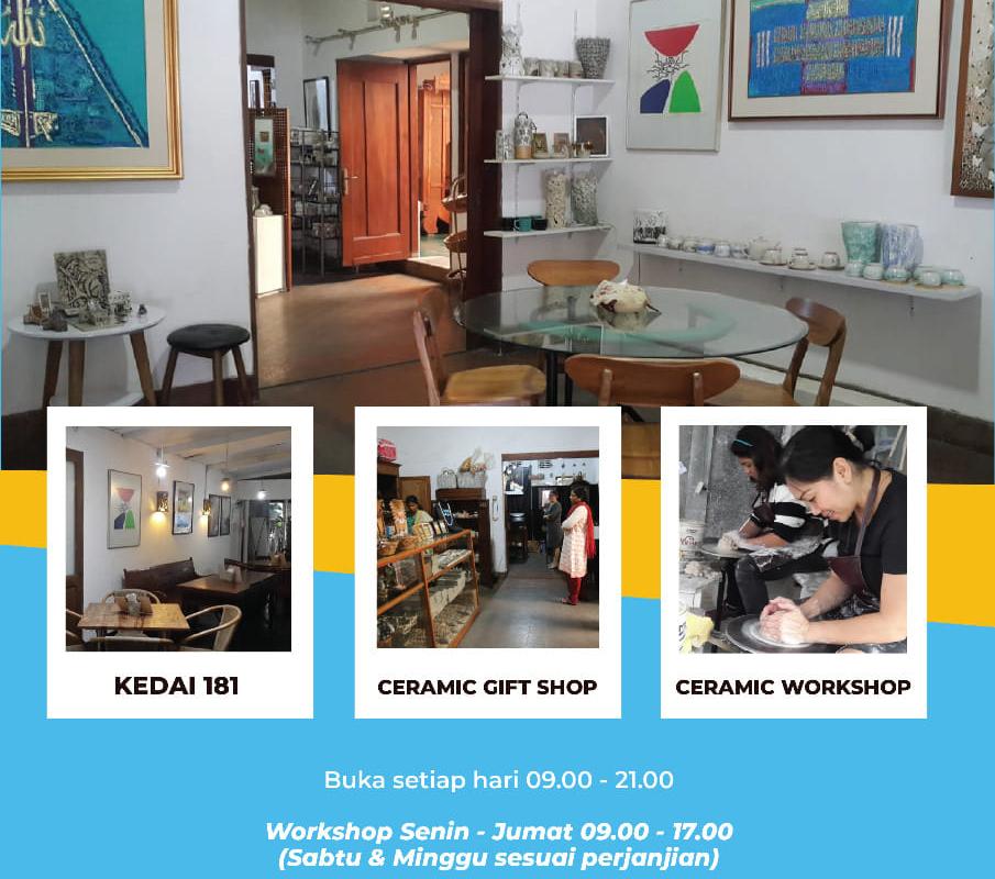 Pameran Seni Kriya Keramik Design Craft Festival Bandung